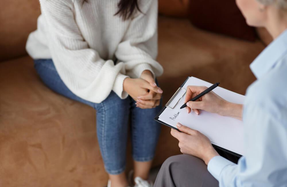 rozmowa z psychoterapeutą